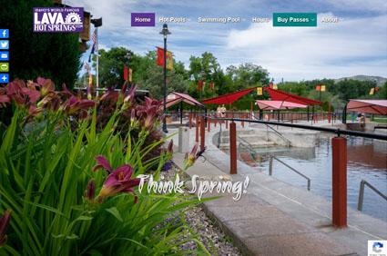 Lava Hot Springs Hot Pools Website