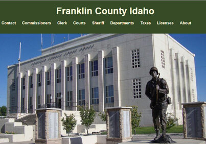 Franklin County Idaho in Preston Idaho