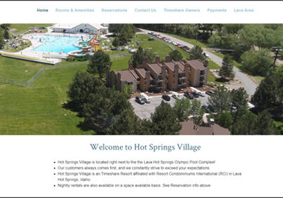 Lava Hot Springs Village Condos in Idaho
