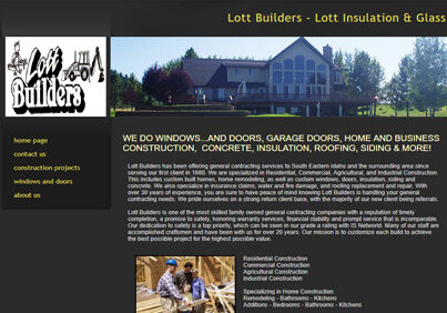 Lott Builders - Lott Insulation & Glass in Soda Springs Idaho
