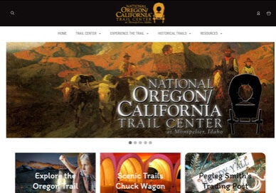 National Oregon/California Trail Center in Montpelier Idaho