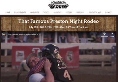 That Famous Preston Night Rodeo in Preston Idaho